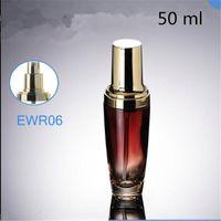 Бутылки для хранения JARS 10 шт. 50 стеклянные пустые пакет бутылка насос ручка верхняя оценка пополняемый мини-гель-гель для глаз