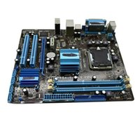Motherboards For ASUS P5G41 T-M LX V2 Motherboard Computer 8GB G41 Mainboard Support DDR3 Memory Desktop PCI-E Usado X16 VGA Q8F6