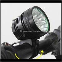 أضواء 34000 LM 14x كري T6 LED 3 طرق دراجة مصباح دراجة ضوء العلوي الدراجات الشعلة 213 W2 GJJVD MFZGR