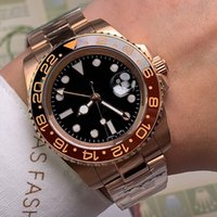 Mens Watches Automatic Mechanical Watch Lady Wristwatch 40MM Sapphire Mirror Oyster Steel Case Montre de Luxe High Quality Free Transportati