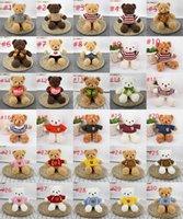 30 styl Teddy Bear Doll Plush Soft Toys Christmas Stuffed Animals Children's Birthday Gifts Couple Confsion Gift Suppli WholaleLJ6XOTGC