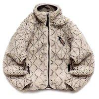 Herren Designer Jacken 19AW KAPITAL FLEECE Two-Sided Wear Turtleck Zipper Mode High Street Casual Outwear