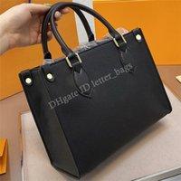 Luxurys المصممين OnThego 2021 السيدات حقيبة تسوق حقيبة يد حقيبة يد حقيبة حمل حقائب الكتف المرأة حقائب اليد حقائب اليد المحافظ محافظ الظهر محفظة محفظة