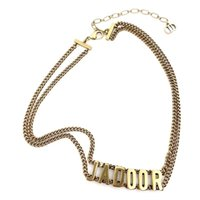 70% av Outlet Online Necklace Brev Håled Out National Style Haoshi Geometrisk Diamond Inlagda Kvinnors ormkedja