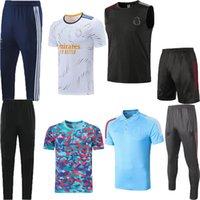 2021 2022 Real Madrid Fussball Jersey Training Sleeveless Weste Anzug 20 21 22 GEFAHREN BENZEMA SERGIO RAMOS Kurzarm Cropped Hosen Polo Set Football Hemd Sports Kits