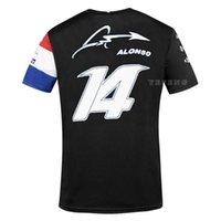 F1 Formula One T Shirt Competizione Audience T-shirt T-shirt Alpine Team Motorsport Alonso Racing Car Fans Jersey Camicia a manica corta Abbigliamento Abbigliamento Gucchiature da equitazione Tshirts Kgzu