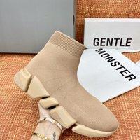 balenciaga Zapatos de alta calidad 2.0 pares de calzado Balencaiga Balencga Triple S Diseñadores de moda para mujer SOCKS Zapatillas de deporte Hombres Mujeres Plataforma