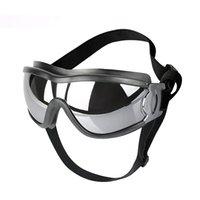 الفاخرة الحيوانات الأليفة نظارات واقية الكلاب نظارات ماء يندبروف الحيوانات الأليفة الزجاج واقية من الشمس uv دليل على النظارات الشمسية الكلب الكبير