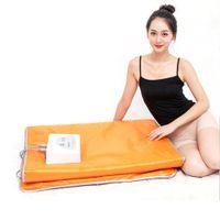 Manta de la sauna de infrarrojo lejano para la pérdida de peso Tonificación del músculo del músculo de la tensión del músculo Manta de desintoxicación de la sauna de desintoxicación de la sauna portátil Máquina de adelgazamiento