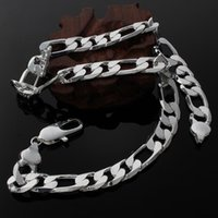 Chains High Quality Classic 12MM Chain 925 Sterling Silver Big Necklace For Men Woman 18-30 Inch Charms Fashion Party Designer Jewelry