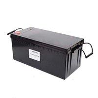 2KWh Cycle profond 12v 200ah LifePO4 Lithium Ion Batteries Pochettes de stockage solaire Pochette pour voiture de golf pour bateaux RV