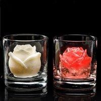 Gül Çiçek Buz Kalıp Bar Ürünleri Silikon El Yapımı Sabun Yapma Küp Çikolatalı Kek Bankacılık DWB8346