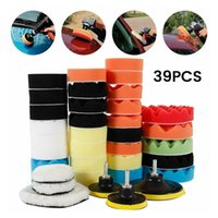 Care Products 39 Piece Disc Wheels Polish Pad Set 5-inch 3-inch 2-in-1 Automobile And Waxing M10 Car Polisher Machine Auto