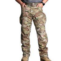 Emersonghere Campo CP Style CPAM Mens Pantaloni da carico Outdoor Pantaloni militari Asercito Combattimento tattico Pantaloni tattici Camoflage