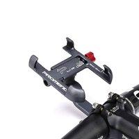 Universal Aluminiumlegierung Fahrrad Telefon Halter Fahrrad Racks Rutschfeste Motorrad Lenker Halterung Moblie Mobiltelefon Clip Für Bike 1554 Z2