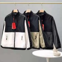Mens Jacket Sportswear Designe Hoodies Parka 봄과 가을 코트 후드 지퍼 패널 Epaulet Bomber Jacker 오토바이 얼굴 북쪽 Jacke