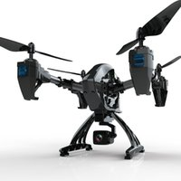 JD-11 Gran quadcopter grande 2 millones HD Phyroscopio de seis ejes de seis ejes Aeronave Aititud Hold WiFi FPV Profesional Drone RC