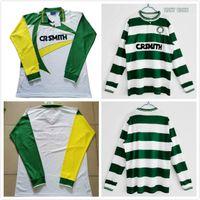 Celtic Retro Langarm 1987 1988 1994 1995 Fußball Jersey Gascoigne Albertz Ferguson Vintage Classic Football Shirts.
