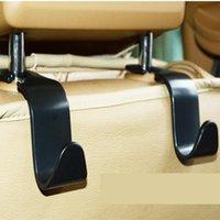 Coche asiento trasero gancho trasero asiento trasero asiento de coche suspensión multifunción almacenamiento adornos accesorios interiores de automóviles