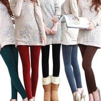 2021 Populaire automne et hiver Fashion Leggings pour femmes trois styles de neuvième pantalon brossé Femme Footpants Warmleging