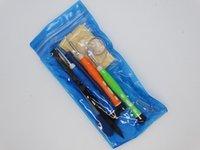 10 en 1 Kit de herramientas de apertura de la reparación con 0,8 PentalBe 1.2 Phillips 1.5 Destornillador ranurado para iPhone 5 6 7 8