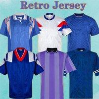 Retro Soccer Jersey Glasgow Rangers 82 83 87 88 90 92 94 96 97 99 01 08 09