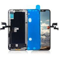 Для iPhone XS TFT ЖК-дисплей Высококачественные сенсорные панели экрана Digitizer Полная сборка Ремонтные детали с пенопластом.