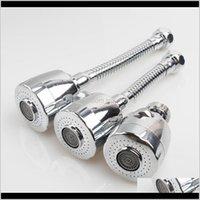 Torneiras de cozinha Faucet rotatable Faucet Aerador Head Head Head Diffuser Filtro Acessórios ABS Mangueira de Plástico Aço Inoxidável SH Jllcg Jlvww
