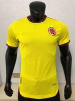 لاعب نسخة 2021 2022 كرة القدم الفانيلة المنتخب الوطني كولومبيا بعيدا مينا كوينترو موريل باكا فالكاو جيمس كوادرادو 21 22 قميص كرة القدم