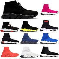 최고 품질 2021 디자이너 양말 스포츠 캐주얼 신발 속도 2.0 트레이너 트레이너 럭셔리 여성 남자 주자 구두 운동화 양말 부츠