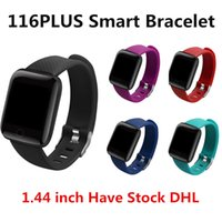ID116PLUS Smart Watch Wristbands Waterproof Fitness Tracker ...