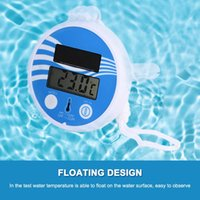 Pool & Accessories Floating Swimming LCD Display Digital Thermometer Waterproof Solar For Outdoor Indoor Bath Spa Aquariums Fish