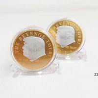 트럼프 2024 동전 기념 공예 복수 투어가 미국 백 금속 배지 HWB9039