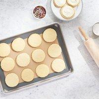 Esteira de assadeira de silicone - Para bolinhos de bolinho / pastelaria / cookie Fazendo profissionais Grau Nonstick Rolling Pins Pasty Placas