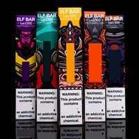 Elf BAR LUX LUX 1500 Kit di dispositivi di sigaretta monouso Kit Vape Pod 850 mAh Battey 4.8ml Pods resistenza 16 colori Bars vs flum Air Bang XXL Gunnpod