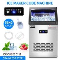 شريط صانع الثلج التجاري ماكينة أدوات تبريد المطبخ معدات الفولاذ المقاوم للصدأ Freestanding للمنزل / مطعم / مقهى