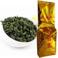 250g Çin Organik Yeşil Çay Vakum Paketleri Fragrant Anxi Tieguanyin Oolong Çay Sağlık Yeni Bahar Çay Yeşil Gıda Promosyon