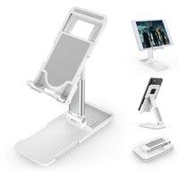 Support de bureau réglable de hauteur de support de téléphone pliable pour iPhone 12 11 PRO XR XS Max iPad Kindle