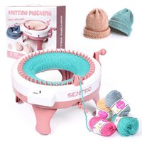Sewing Notions & Tools Hand Knitting Machine 48 Needles Smart Loom Knit Hats Scarf Sweater Board Kit For Adults And Kids