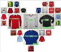 Manga S-2XL Long 2006 2007 2008 Fútbol Jersey Retro 06 07 08 Camisa de fútbol de la vendimia de la casera roja clásica Completa Maillot de pie # 8 Gerrard