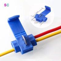 Drahtverbinder Scotch Lock Snap Awg22-10 ohne Kabel isolierte Crimp Quick Splice Electrical Terminals Block
