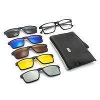 Style Sunglasses Popular M Six Model Classical With Fashion Square Frameless UV 400 Lens Men Metal Package Vintage Com Csfhc