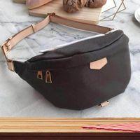 1-23 Brand Designer più nuovo Borsa a tracolla del corpo temperamento Bumbag Cross Pack Bum Waist Bags661-30