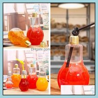 Other Kitchen, Dining Bar Home & Garden Light Bb Beverage Milk Tea Plastic Juice Bottle Creative Yogurt With St Cup Drinkware Tools 4680 Dro