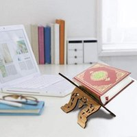 Buchständer Kreative Montage Holzfarbene Leseling Organizer Holder für Zuhause Andere Dekor