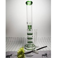 Arrival 16.5 Tall Thick Glass Pipe For Smoking Hookah Recycler Oil Rigs Large Water Bong