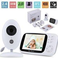 Baby Monitor Wireless Video Nanny Baby Camera intercom 3.5 Digital Video Baby Monitor Night Vision Security Camera 2 Way Talk