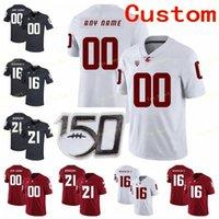 Трикотажные изделия в колледже NCAA Вашингтон Государственные пумы Cougars 11 Draw Bledsoe 12 DEZMON Patmon 15 Gunner Cruz 16 Deon Mcintosh Custom Football