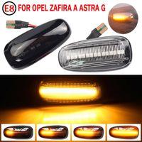 2 adet LED Dinamik Yan İşaretleyici Dönüş Sinyali Işık Sıralı Blinker EMARK Zafira A 1999-2005 Astra G 1998-2009 Acil Durum Işıkları