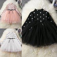 Bebek Uzun Kollu Elbise Kız Çocuk Kostüm Hediye Okul Giyim Çocuklar Için Çocuklar Parti Elbiseler 1 2 3 4 5 Yıl Tatil Giysileri 943 X2